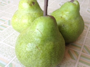 South Africa pears for Pear and caramel mousse cake